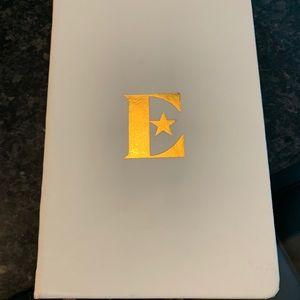 """Elton John """"E"""" Blank Journal Notebook"""